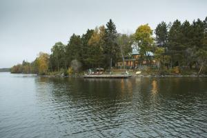 Cabin from water