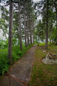 Path to boat dock