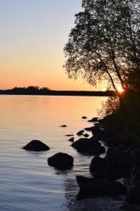 Pelican Lake Sunset
